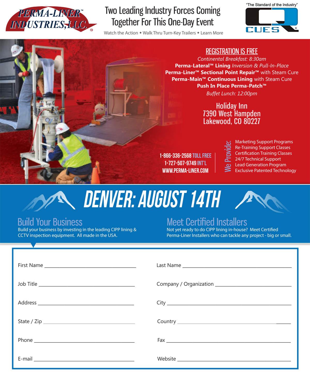 Denver, Perma-Liner™ is headed your way!